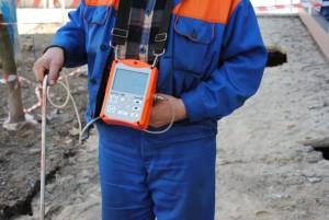 Фото: Прибор для измерения газа