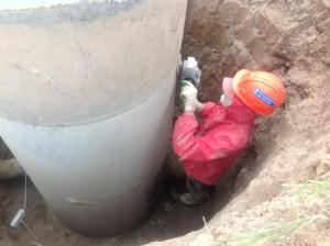 Гидроизоляция колодца из бетонных колец своими руками